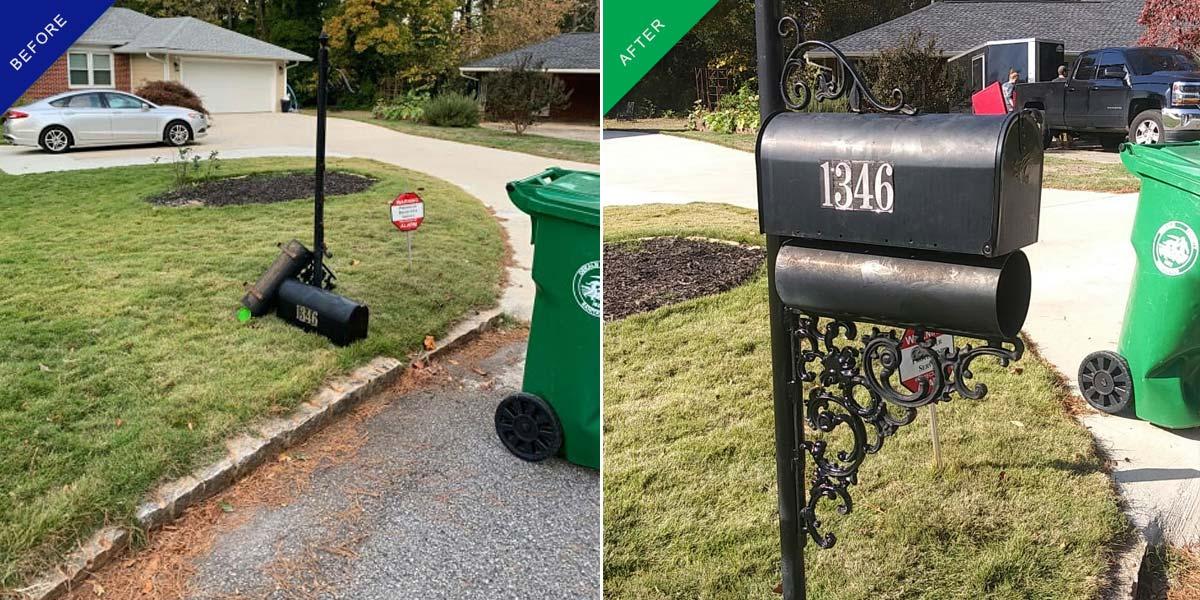 atlanta mailbox repair mobile welding
